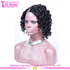10 Inches Short hair U Part Wig For Sale 150 Density Curly Style Cheap U Part Human Hair Wigs