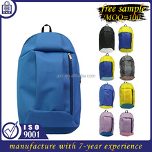Free sample wholesale backpack bag custom sport travel bag