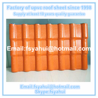 Synthetic Resin PVC Plastic Roofing Tiles