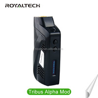2016 Royaltech High Demand Products 7-60W Temperature Control Tribus Alpha Box Mod Fit Kanger TopTank Mini vaporizer