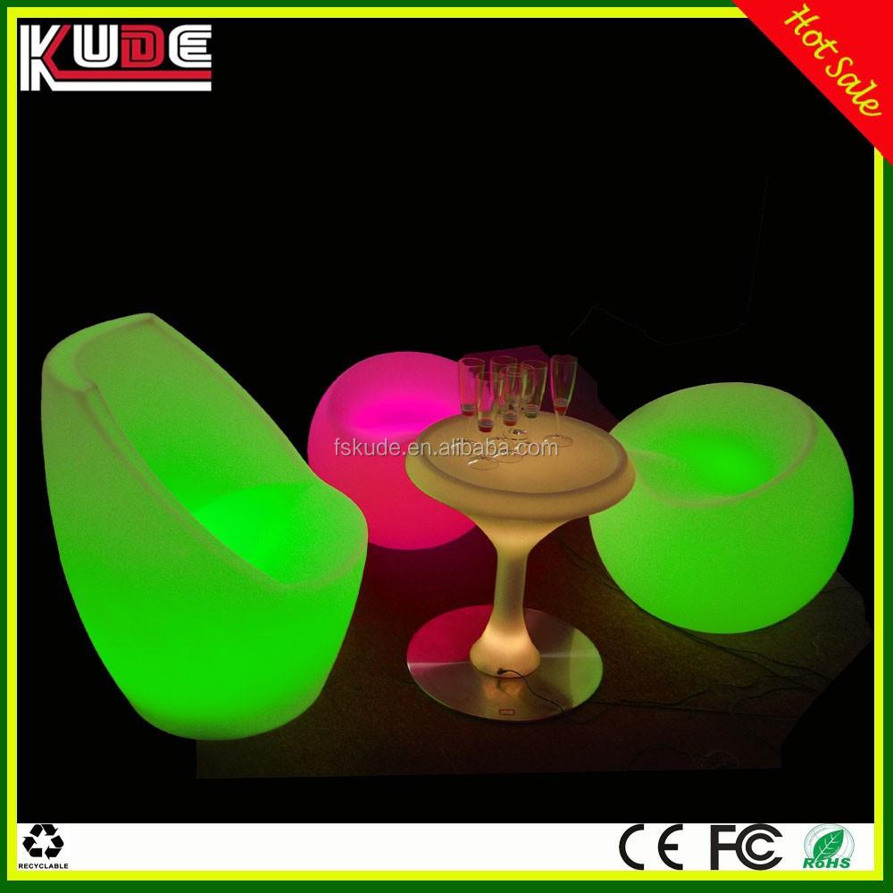Nightclub Furniture Wholesale Wholesale Pe Material Outdoor Led Lounge Furniture For Bar Nightclub ...