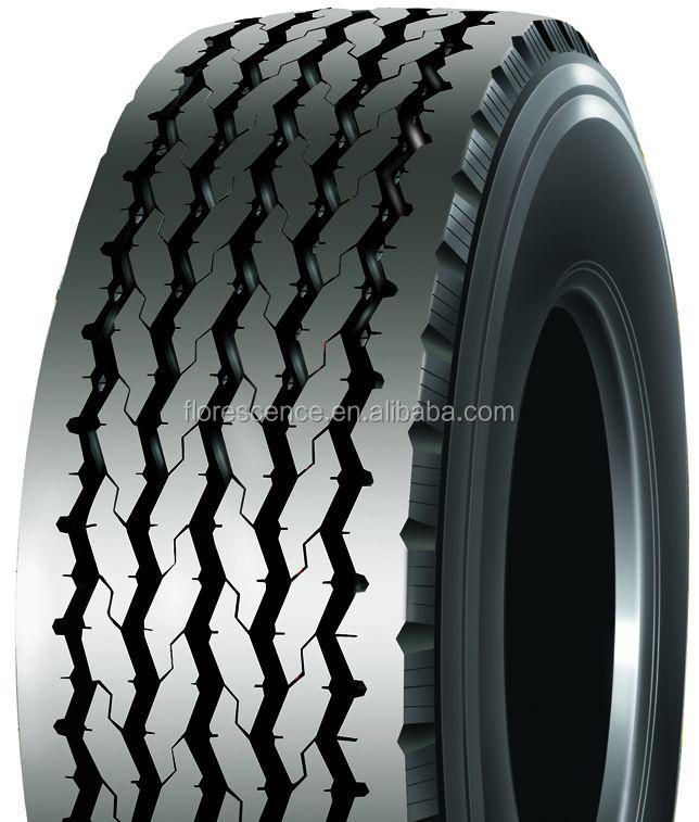385/65R22.5 TL Wide Base Single Tire for Highway Transportation