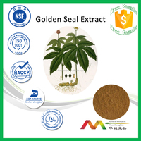 NSF-GMP Professional Manufacturer Natural Golden Seal Root Extract Alkaloid/Berberine Powder