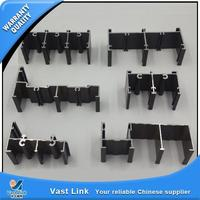 Plastic aluminum window frame parts golden supplier in alibaba