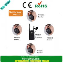 2.4G Global Communication !Mini size Handheld type wireless conference device, Wireless tour guide system, Working 150meters