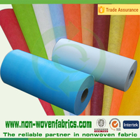 100%polypropylene spunbond nonwoven wedding table cloth/PP hospital gown non-woven fabric