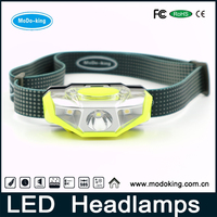Factory direct sale waterproof ip65 lightweight 4 modes headlamp