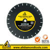 Aggressive 14 Inch Large Diamond Saw Blades for Ductile Cutting