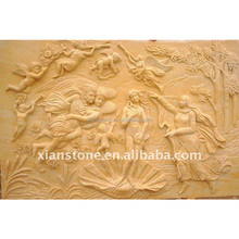 decorative marble angel wall plaque