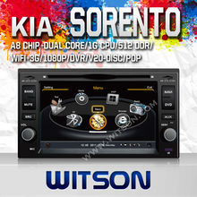 WITSON car navigation KIA SORENTO 2002-2009 WITH A8 CHIPSET 1080P V-20 DISC WIFI 3G INTERNET DVR SUPPORT