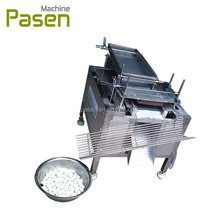 High speed boiled quail egg shell peeling machine / automatic quail egg processing machine / quail egg machine