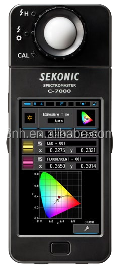 Sekonic C-7000 ccd digital colorimeter with led lux meter
