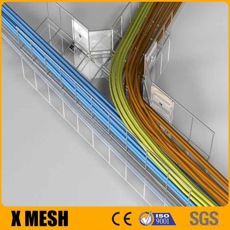 Flexible Installation galvanized Welded Wire Mesh Cable Tray with 50mm height
