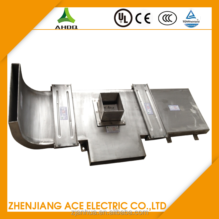 Gi Underground Galvanized Steel Cable Trunking In Subway Projects