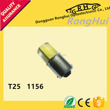 T25 1156 Led car bulb TOP quality with silicon 24 SMD 12V