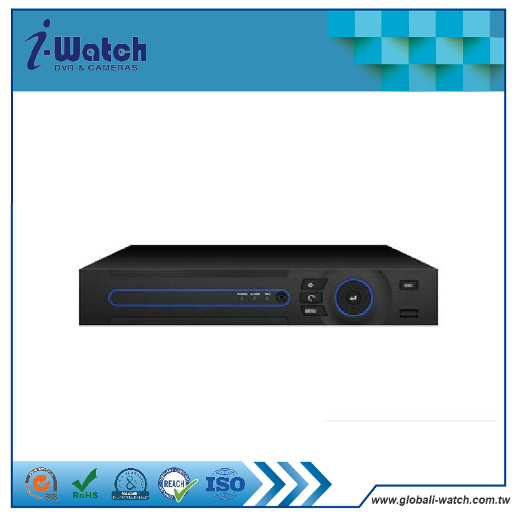 XVR-2408M 8CH 1080H TVI/AHD/NVR/DVR 4 in 1 Mixed DVR HDMI/VGA output Digital Video Recorder