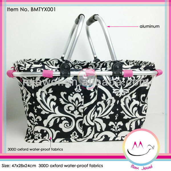 Fashion collapsible market tote