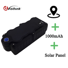 Solar cell GPS tracker waterproof level is IPX7, powerful magnetic,free from professional install,cost effective.Support gsm voi