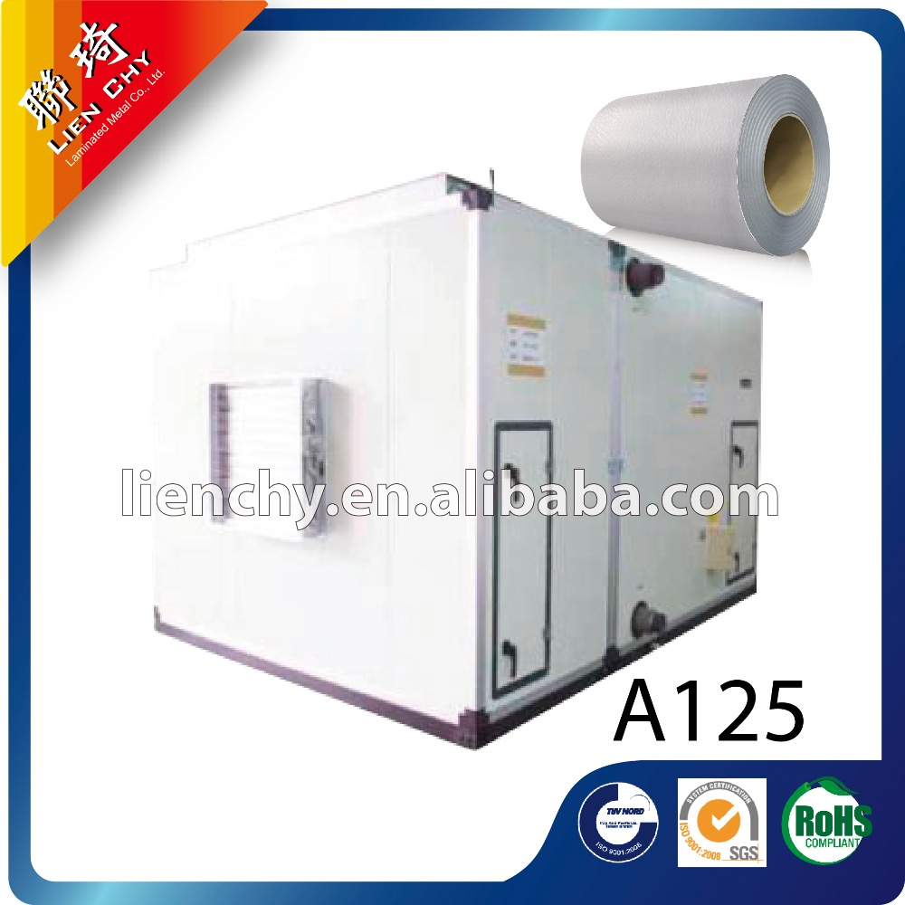 A125 Polar White laminated steel sheet /coil for freezer