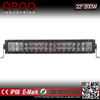 China wholesale 4d brightness 200w 20'' off-road led lightbars