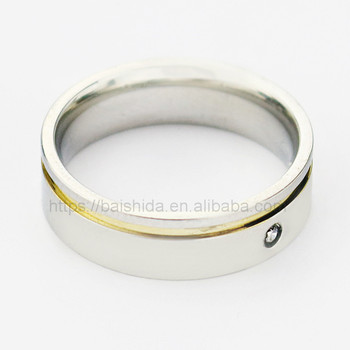 New arrival fashion new model wedding staniless steel ring jewelry gold plated ring designs for unisex