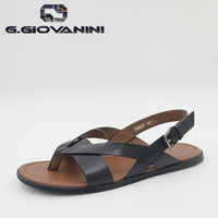 2016 Top Seller Classic Design New Pattern Casual Serials calf Leather Collection Sandal