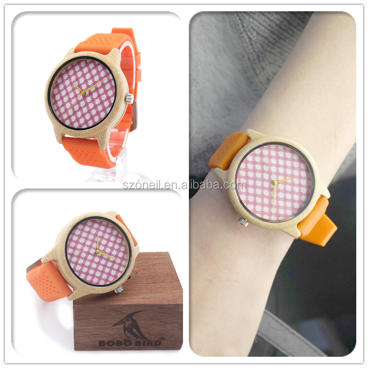 china supplier silicone wood watches and women fancy ladies watches picture wholesale in bulk