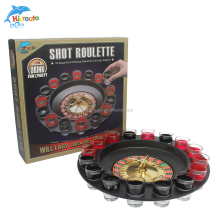 16 cup shot glass roulette custom drinking game lucky shot roulette