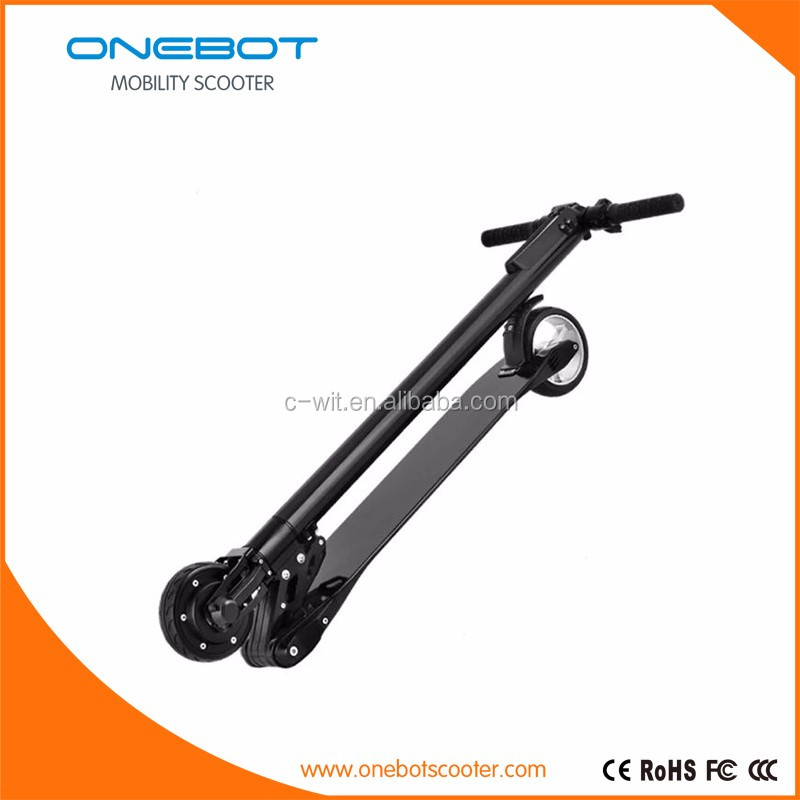 High-Quality Foldable Carbon Fiber Mini E Power Scooter Electric With Display Cruise