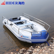 high speed jet boat with outboard motor