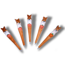 High quality lovely animal carved wooden pen