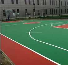 rubber basketball court outdoor flooring