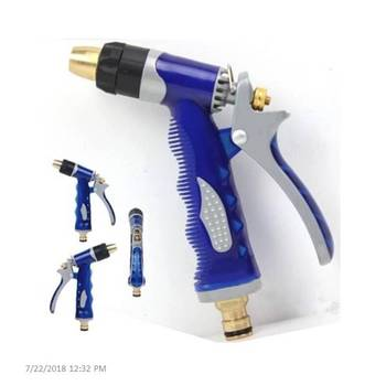 Copper Head Plastic Water Gun Sprayer With Faucet