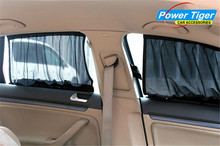 Wholesale Anti-Uv AUTO Car Sunshade Curtain Black