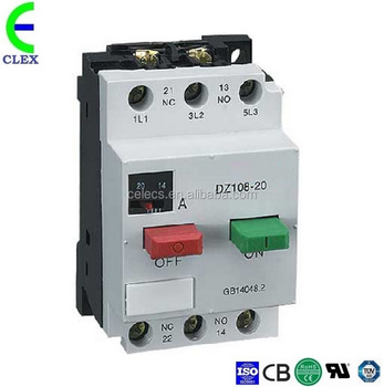 DZ108-20 MPCB,thermally protected motor,motor protection switch, 2.5~4A Mpcb