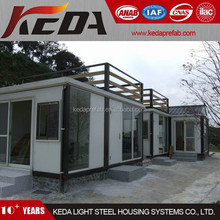 Brand New Luxury Prefabricated Living Container House Home