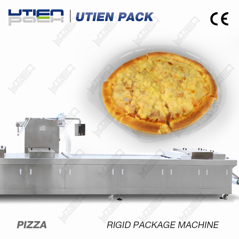 Baked Pizza vacuum packing machine
