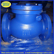 Swing Check Valve with lever and weight stainless steel pressure Cast iron swing check valve