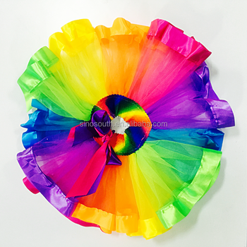 summer tutu skirts birthday rainbow tutu skirts