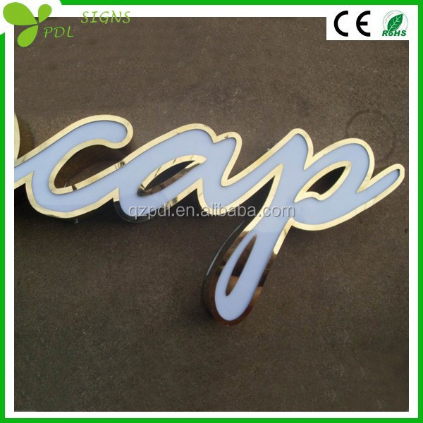 Super Bright Led Metal Styles of Different Letters