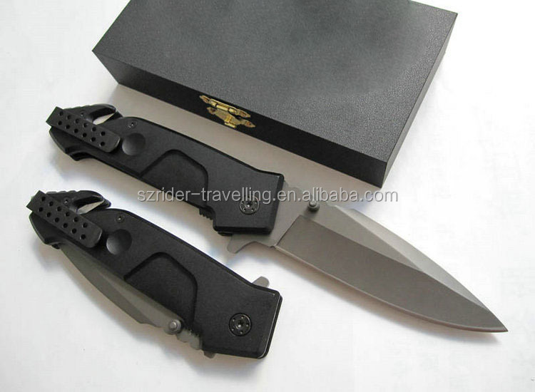 OEM outdoor multifunction stainless steel multitool couteau knife
