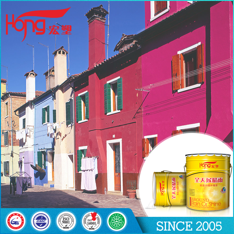 Hongsu Green safe K77 light Colorless Water-based Varnish Wall Paint