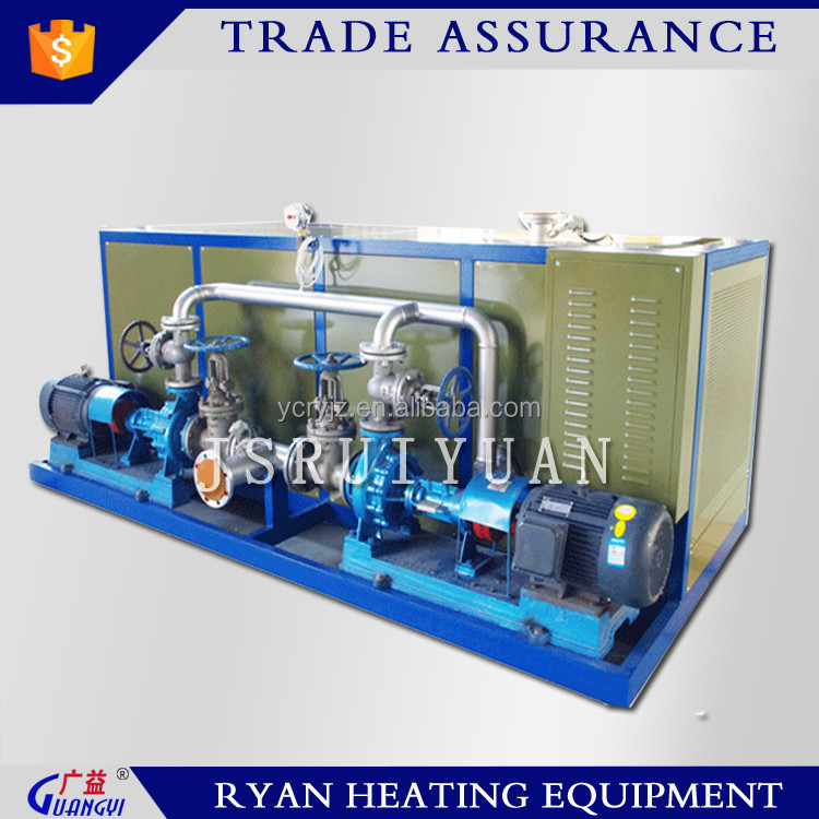 industrial heating system thermal oil heater for chemical industry