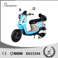 2016 Cheap small electric scooter moped 1000W electric motorcycle with pedals