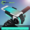 ROCKBROS Portable Multifunctional Audio Mountain Bike Light Electronic Horn Radio Bluetooth Speaker with Camera