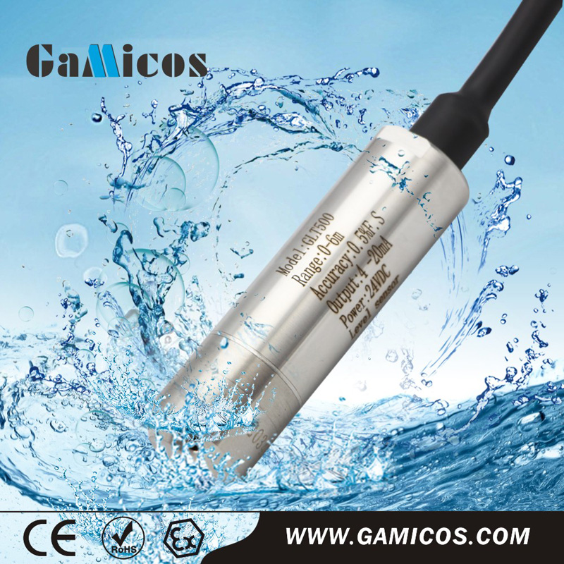 GLT500 Throw-in type 0-5V water level sensor for pumps