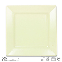 10'' ceramic square dinner plate light green stoneware plates dishes square plate