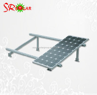 ground or roof panle triangle bracket for solar panel install stenting