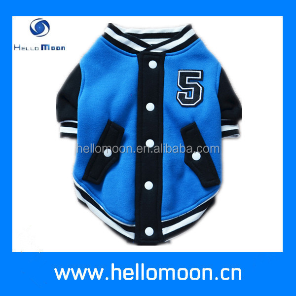 Factory Wholesale Sport Blue Clothes Clothing Coat Dog Apparel Pet