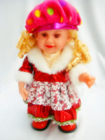 Singing dancing swing electrical toy Pretty Beret Dolls